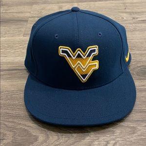 West Virginia Nike hat